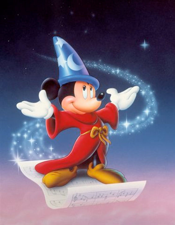 Sorcerer Mickey Wallpaper Sorcerer Mickey Mouse