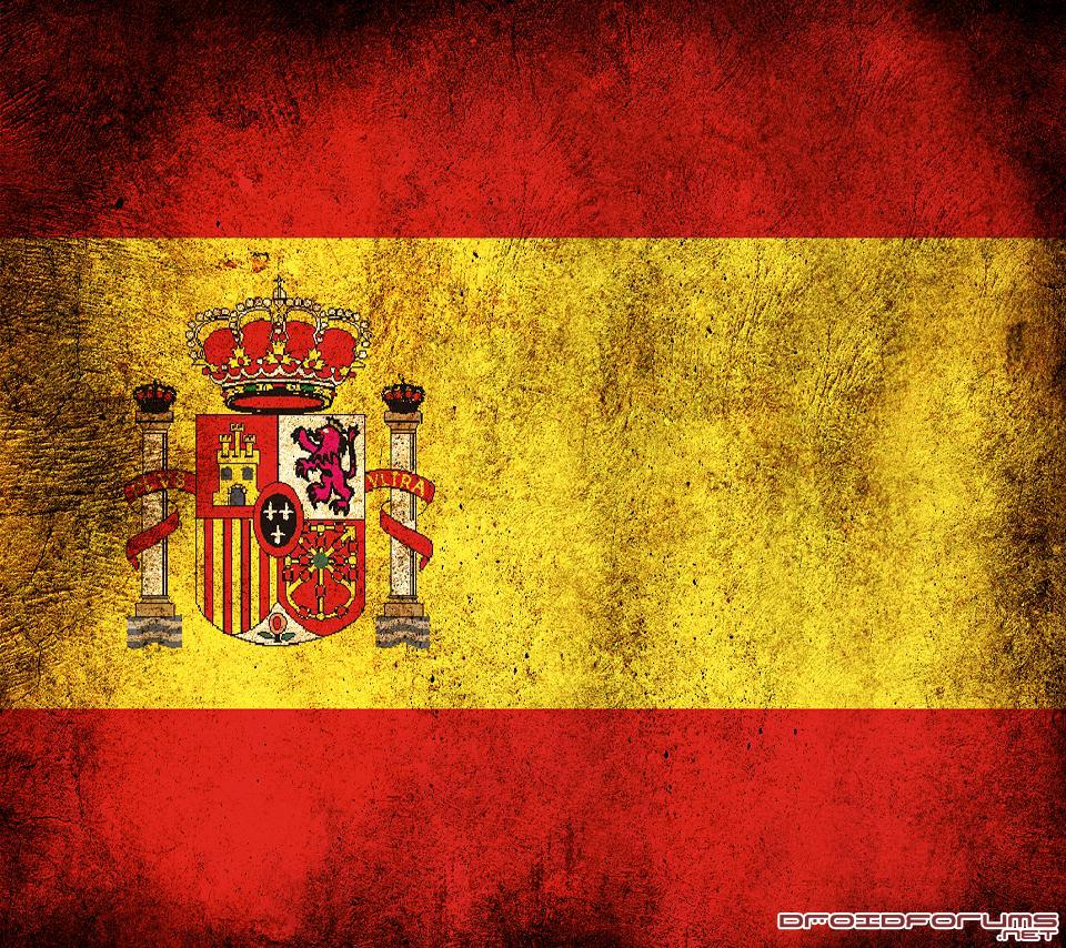spain flag motorola droid background wallpaper