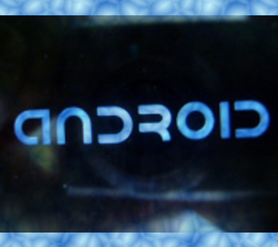 Android Dark Reflected Name