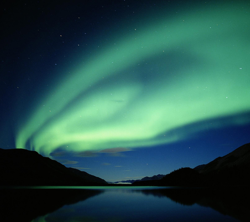 Aurora borealis (Windows nature wallpaper)