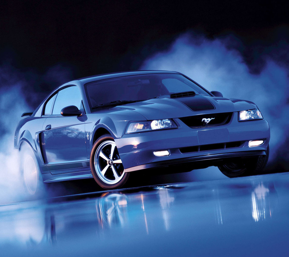 2003 Ford Mustang Mach 1 - Azure Blue