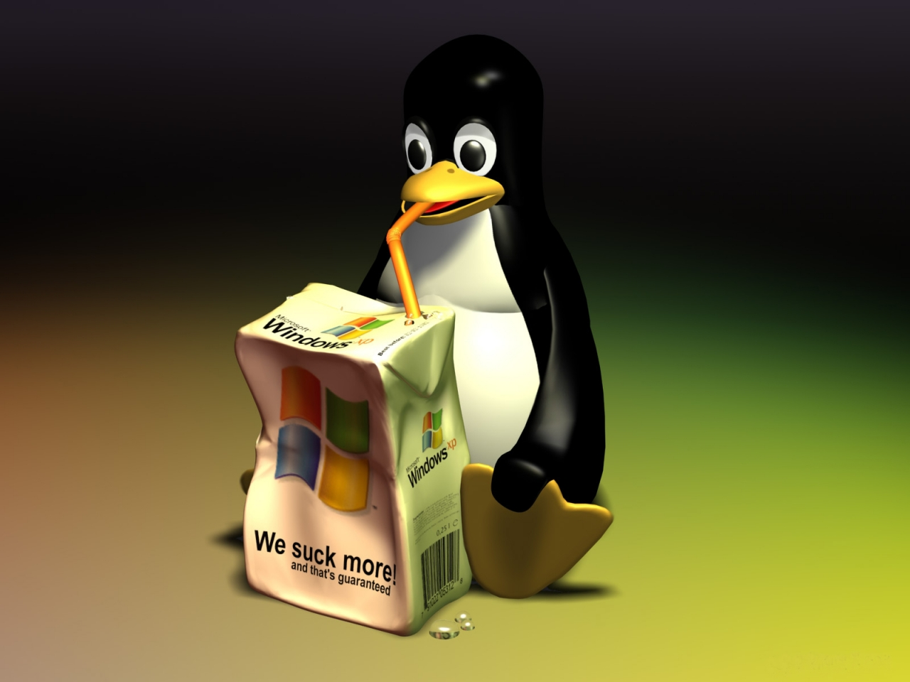Tux Takes Windows