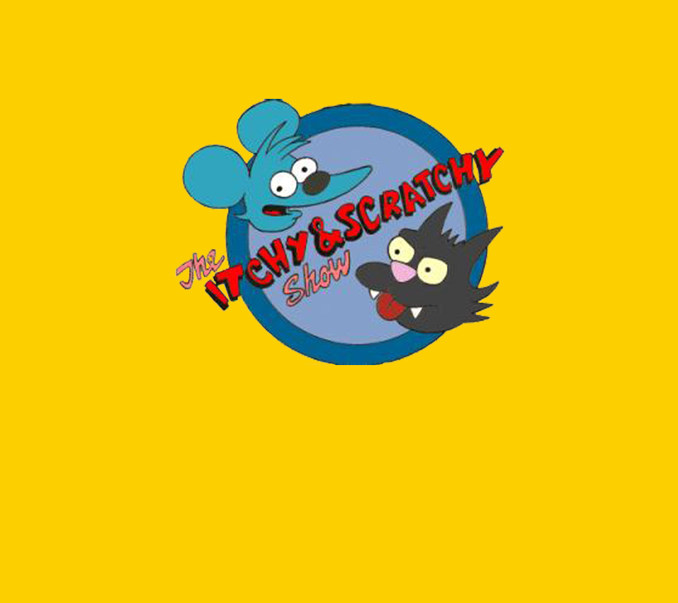 Itchy and Scratchy Logo