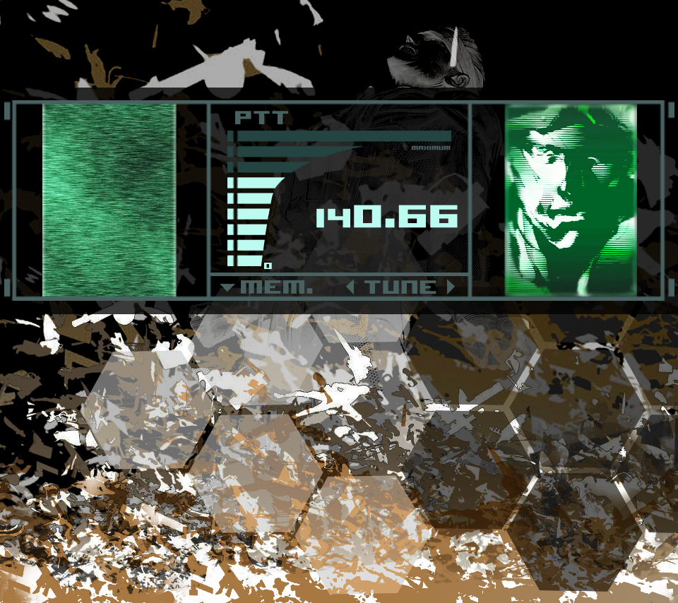Metal Gear Solid CODEC Wallpaper