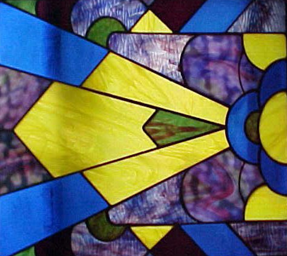 Art Decco, Stained Glass design