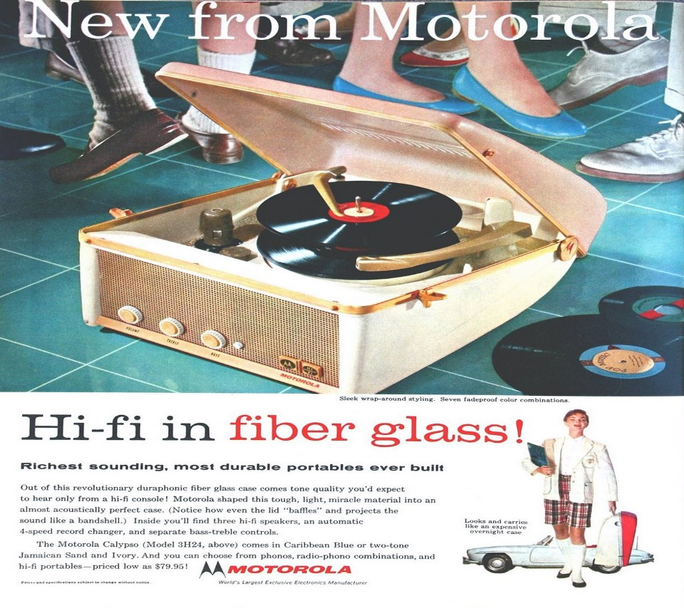 Motorola Hi-Fi Ad from 1957