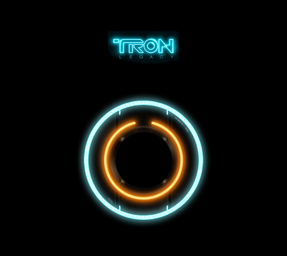 Tron Legacy Wallpaper I Made Of Rinzler039s Identity