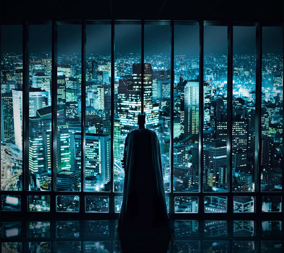 The Dark Knight skyline