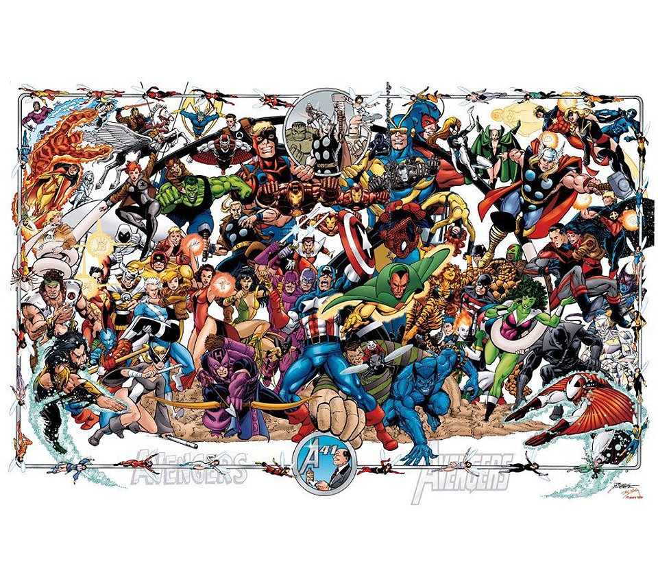 Avengers Poster by George Perez
