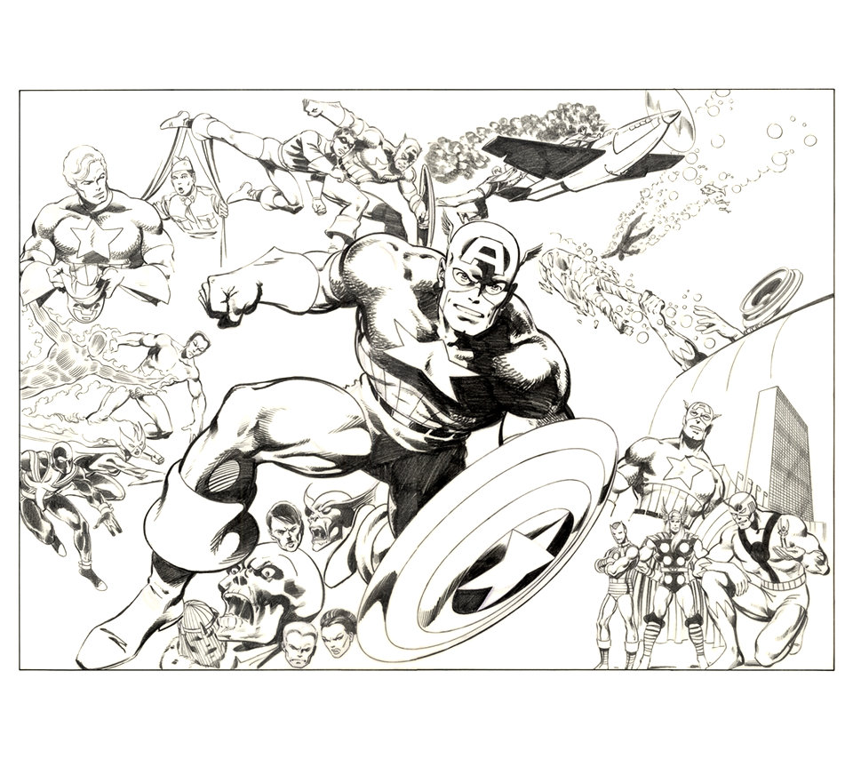 Captain America by John Byrne