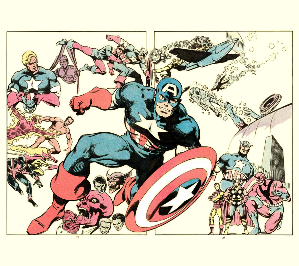 v2 Captain America by John Byrne