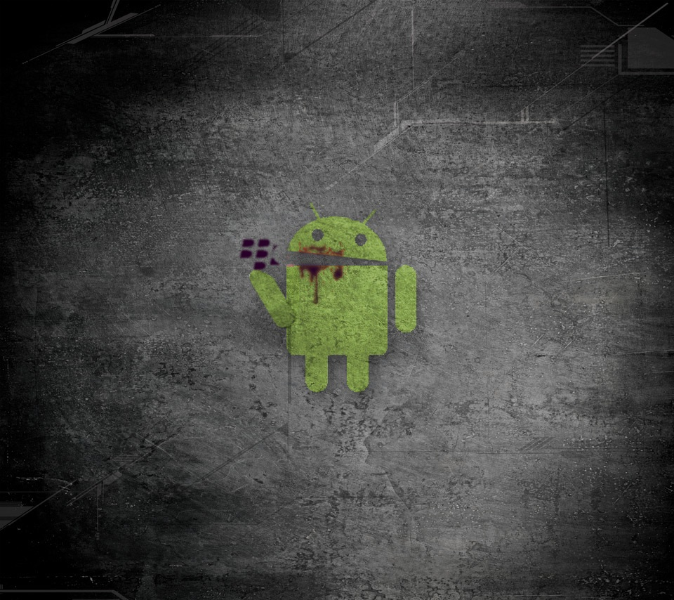 Android eats BlackBerry