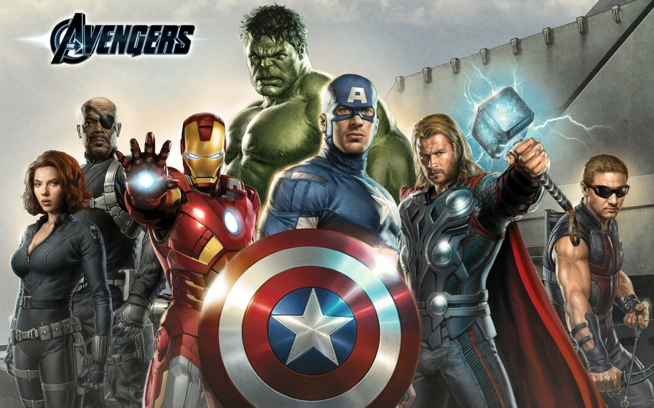 The Avengers WIP