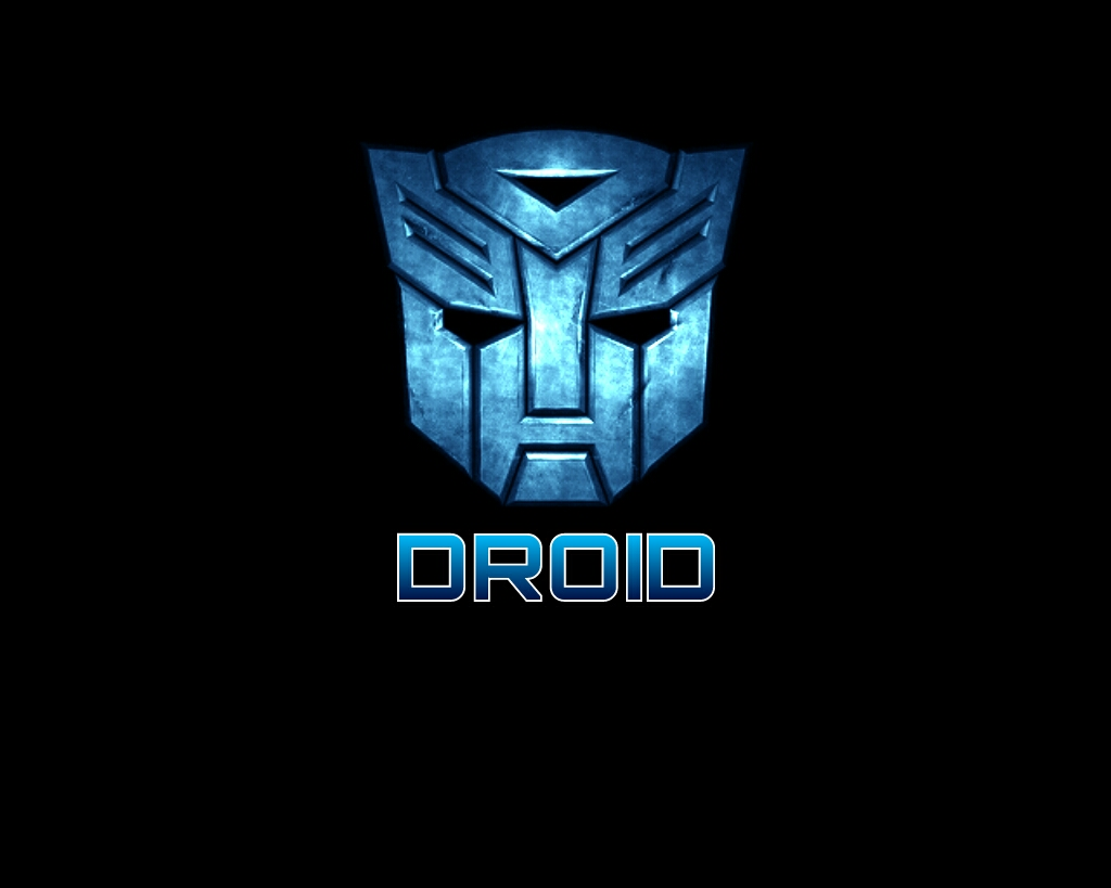 droid transformer blue