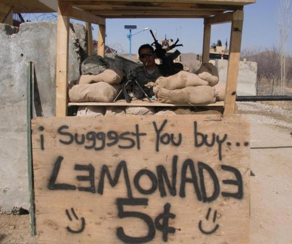 best lemonade stand ever