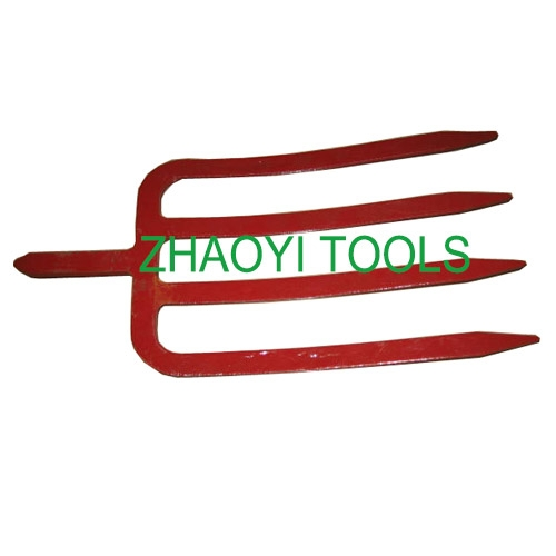 1003104 forged flat tines spading digging  fork