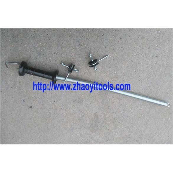 PSD01 paddock fencing gate pull-back spring handle