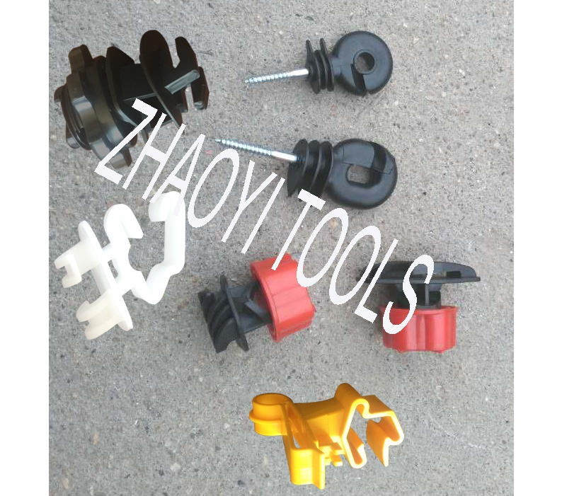 fencing cable screw insulators clips