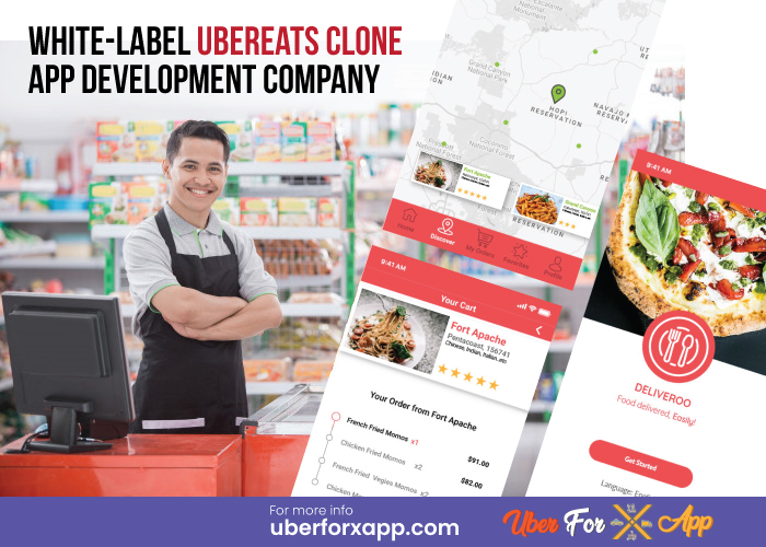 Ubereats Food Delivery App Clone to boost up your business