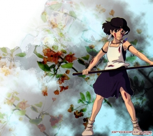princess mononoke motorola droid background wallpaper