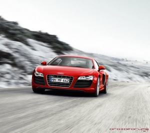 audi r8 motorola droid background wallpaper