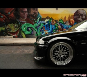 bmw graffiti motorola droid background wallpaper