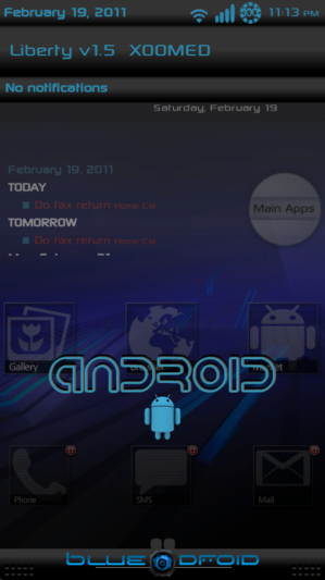 Liberty darkandroid Xoomed