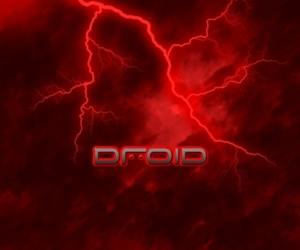 Droid Lightening Red 227