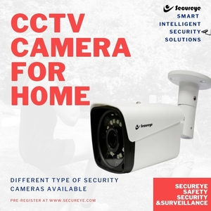 Best CCTV Camera for Home Security By Secureye Brand