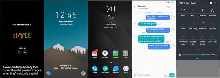 200 New Samsung Themes Were Released This Week | DroidForums