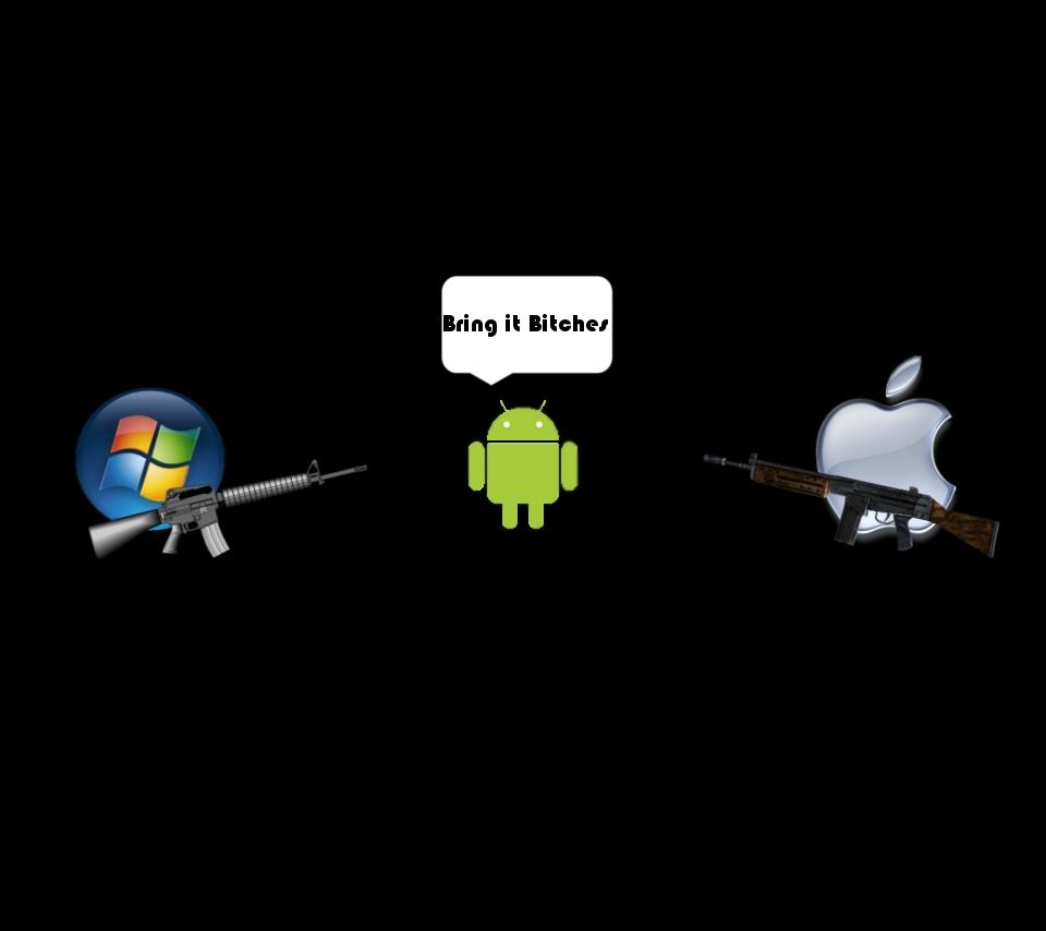 "photo ""droid vs apple & microsoft"" in the album ""droid"