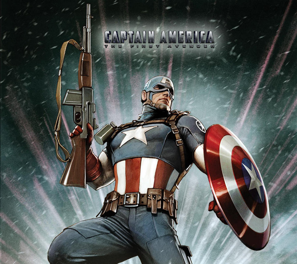 100 Captain America First Avenger Wallpapers Lumia 535
